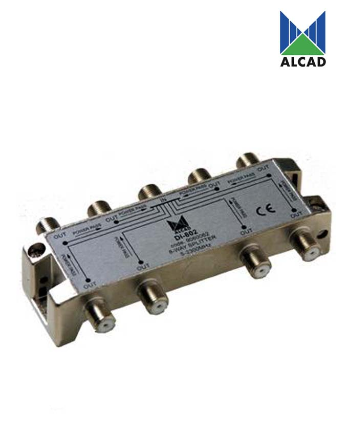 Alcad DI-802 8-Way Splitter
